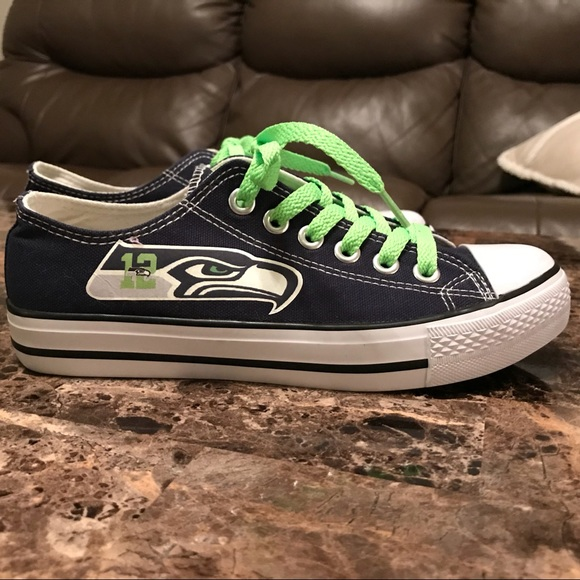 abf820b6b2b88a Seattle Seahawks Tennis Shoes. M 5a88c3a684b5ce810d125f3d